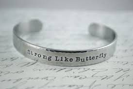 strong like a butterfly